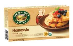 Toaster Waffles Green Food Review Nature U0027s Path Homestyle Gluten Free Frozen Waffles