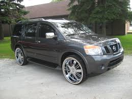 nissan armada on 28s chitownsillest 2008 dodge charger specs photos modification info