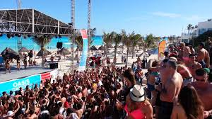 cancun spring break 2013 student city beach party oasis hotel