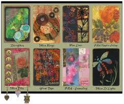 artist trading cards from usartquest favecrafts