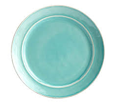 Set Of 4 Cambria Dinner Plate Set Of 4 Turquoise Pottery Barn Turquoise