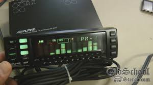 old alpine 3342 graphic eq equalizer sound field processor