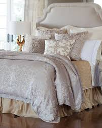 Silver Duvet Cover Lili Alessandra Champagne Silver Jackie Bedding