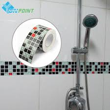 Border Wall Tiles Bathroom Online Get Cheap Glass Border Tile Aliexpress Com Alibaba Group