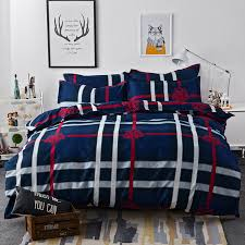 plaid duvet covers king med art home design posters