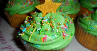 flutter and sparkle easy christmas tree cupcakes recipe