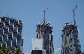 hurricane irma could collapse downtown miami cranes miami new times