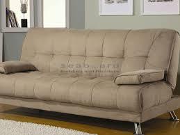 brown microfiber sofa bed coaster 300147 tan microfiber sofa bed futon