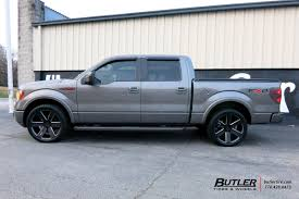 Ford F150 Truck Rims - ford f150 with 22in foose switch wheels exclusively from butler