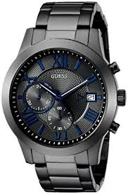 guess stainless steel bracelet images Guess men 39 s stainless steel multi function casual jpg