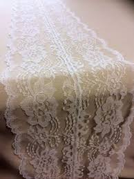 ivory lace table runner 10ft ivory lace table runner 12 white by weddingtablerunners lace