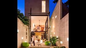 Modern Narrow House Single Story House Plans For Narrow Blocks Escortsea Pics With