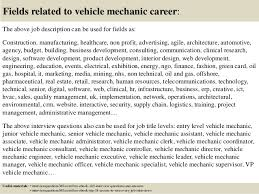 salary for auto service manager top 10 vehicle mechanic interview questions and answers