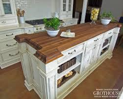 Gilmer Kitchens by Wood Countertops 4 10 Wood Countertop Butcherblock And Bar