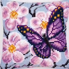 butterfly cross stitch patterns purple butterfly cross stitch