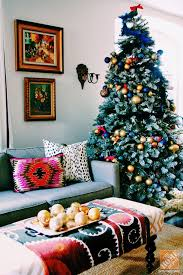 tree decorating ideas pink blue tree and