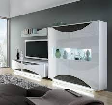 wohnzimmer mobel glänzend hochglanz wohnzimmer wohnwand sismael in weiß pharao24 de