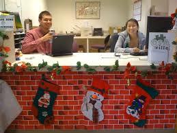 Beautiful Office Desk Christmas Decorations  Room Decor