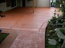 Diy Concrete Patio Staining Concrete Patio Diy U2014 All Home Design Ideas