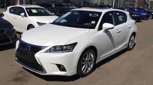 lexus hybrid 2014 2014 lexus ct 200h hybrid technology package review white on