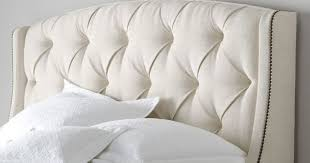 bedroom trendy items similar to wing back tufted upholstered
