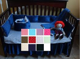 Minky Crib Bedding Minky Crib Sheet Soft Minky Dot Crib Sheet