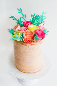 best 25 flower cake toppers ideas on pinterest bright cakes