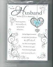 image result for 25th wedding anniversary poems husband 25th