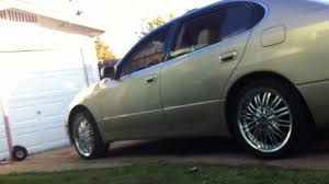 lexus gs300 for sale in nc lexus gs300 new rims and airbags switches youtube
