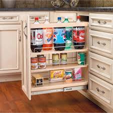 base cabinet pullout organizers rev a shelf 448 series pullout