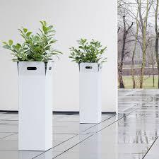 fiberglass planter boxes large lightweight flower pots garden