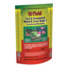 hi yield 35 lb turf and ornamental and grass stopper 33031