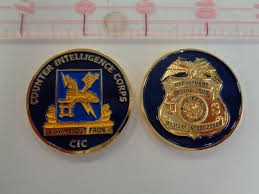 counter intelligence corps cic challenge coin north bay listings