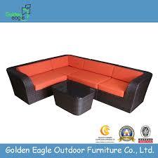 china outdoor l shaped sofa rattan living room sofa china living