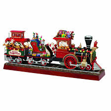 mr christmas mr christmas animated musical santa s express with