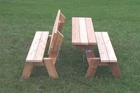Folding Picnic Table Plans Collection In Folding Picnic Table Plans Folding Bench And Picnic