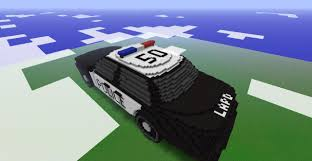 minecraft police car ford crown victoria police interceptor minecraft project