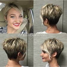 side and front view short pixie haircuts 20 bold and gorgeous asymmetrical pixie cuts blonde balayage