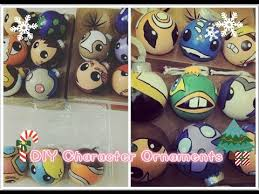 diy character ornaments themed