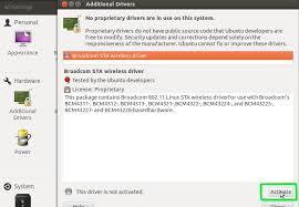 ubuntu network install tutorial how to install proprietary drivers in ubuntu