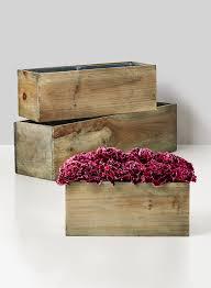 Photo Cubes Centerpieces by Cube U0026 Oblong Wooden Vases Square Jamali Garden