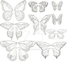 butterfly wings designs by dragonladyhere on deviantart