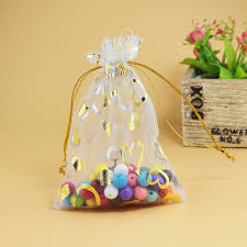 large gift bags wholesale 100pcs lot 20x30cm white with gold st