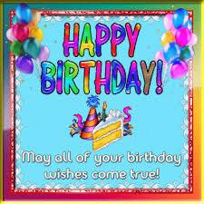 colorful happy birthday wishes free happy birthday ecards 123