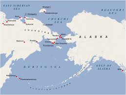 map of aleutian islands map of northeastern end of siberia adjoining to alaska and aleutian