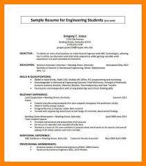 7 sample resume for internship job apply form