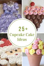 cupcake cakes cupcake cake ideas the idea room