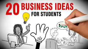 20 small business ideas for college students youtube
