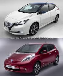 nissan car 2014 2018 nissan leaf vs 2014 nissan leaf old vs new