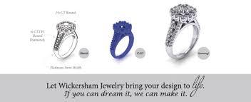Home Design Diamonds Wickersham Jewelry Twogether Diamond Engagement Rings White